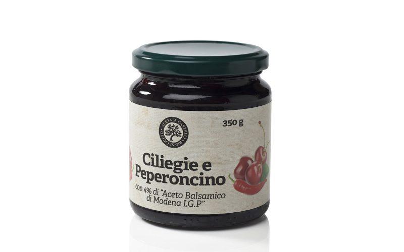 composta-di-ciliegie-e-peperoncino-all'aceto...-350gr